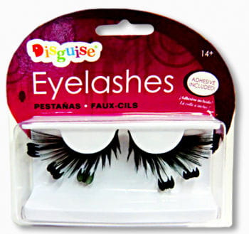 Fledermaus Eyelashes Black