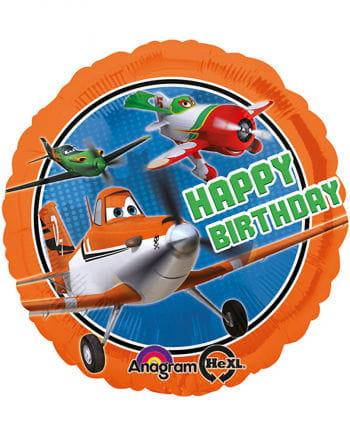 Happy Birthday Folien Ballon Disney PLANES