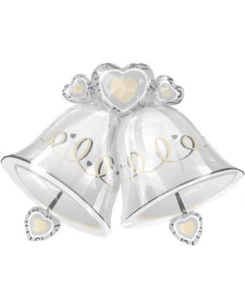 Hochzeitsglocken Folienballon XXL