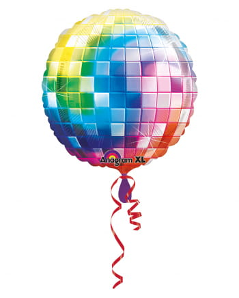 Jumbo Disco Kugel Folienballon 81cm