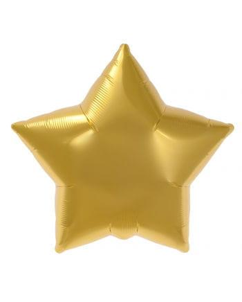 Foil Balloon Gold Star