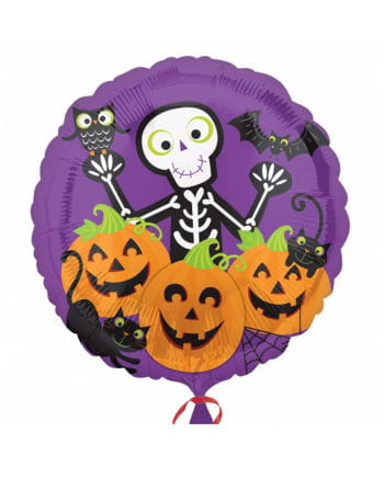 Foil Balloon With Halloween Motif