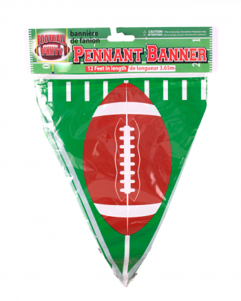 Football Wimpelkette Dekoration