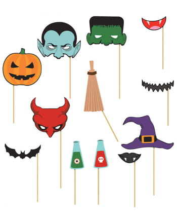 Photo Box Halloween Accessories 12 Pieces