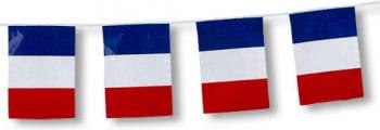Fahnenkette France 5m