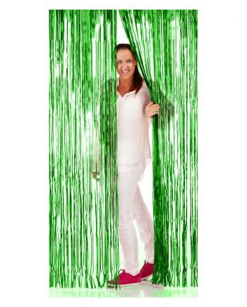 Grüner Fransen Vorhang 1x2m