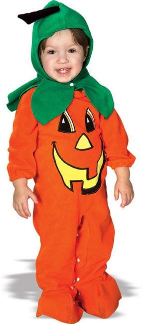 Oranges Kürbis Babykostüm