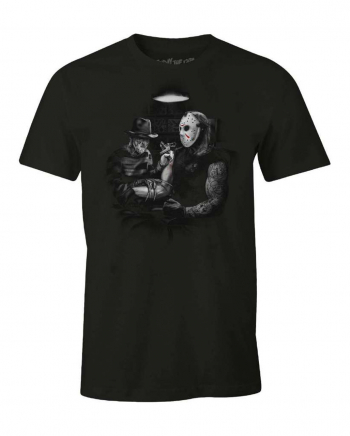 Freddy & Jason T-Shirt Tattoo-Motiv
