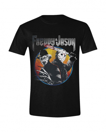 Freddy vs Jason - Concert Print T-Shirt