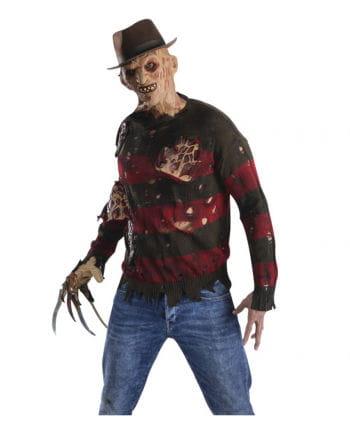Freddy Krueger sweater with burn scars