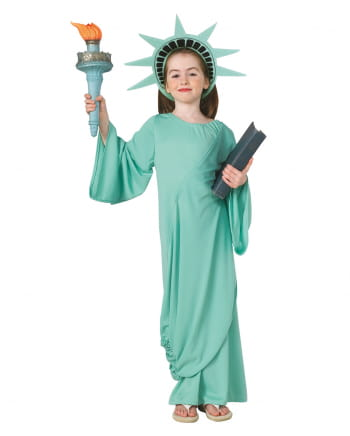 Freiheitsstatue Kostüm für Kinder