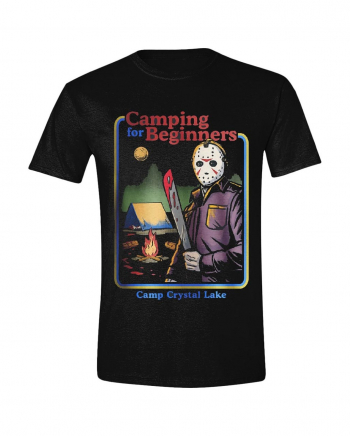 Friday the 13th Camping for Beginners T-Shirt
