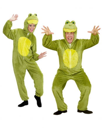Frosch Kostüm grün XL