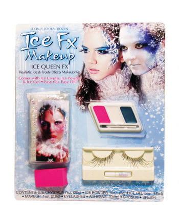 Frozen Ice Princess Make Up Set With Eyelashes