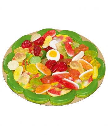 Football Candy Pizza Mix 22 cm