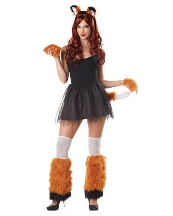 Foxy Fuchs Kostüm Set 4-tlg.