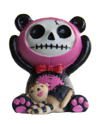 Furrybones Figur - Pink Pandie klein