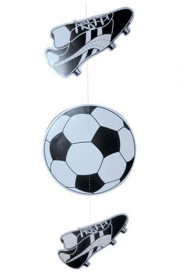 Dekohänger Fußball und Fußballschuh