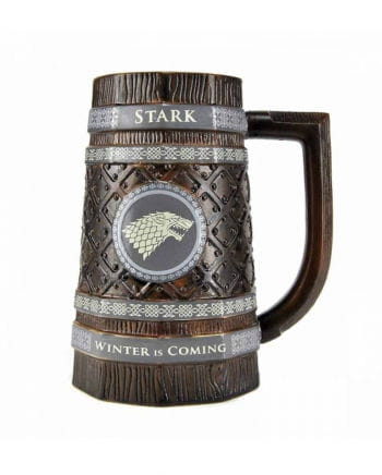 Stark Keramik Bierkrug Game of Thrones