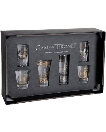 Game Of Thrones - Crest Shot Glasses 6 Pieces