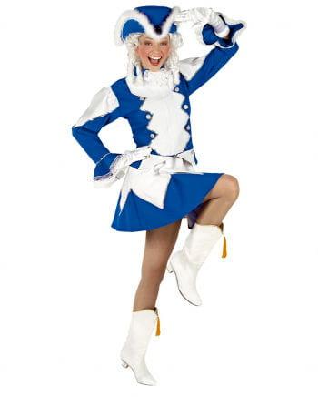 Funkenmariechen Costume Blue / White