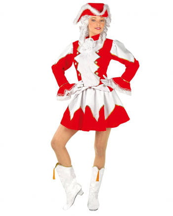 Funkenmariechen Costume Red / White
