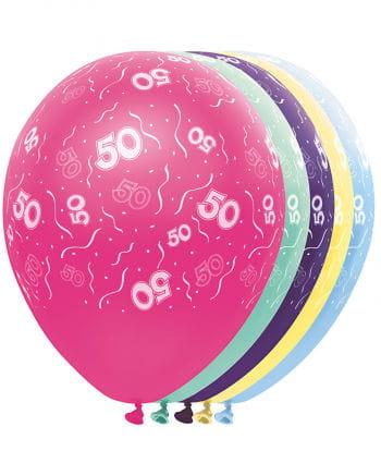 Ballons 50 Geburtstag