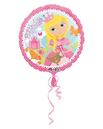 Geburtstags Prinzessin Folienballon 43cm