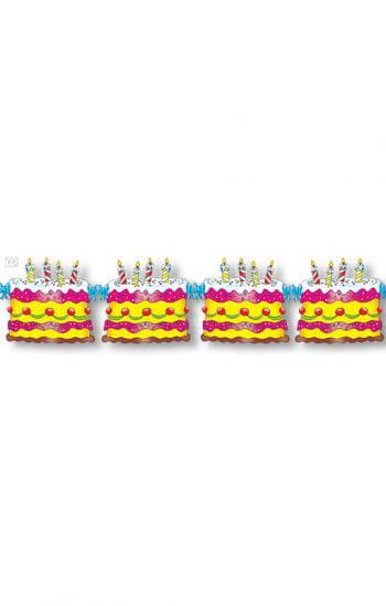 Geburtstagstorte Girlande