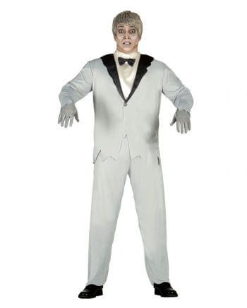 Elegant Ghost Groom Costume
