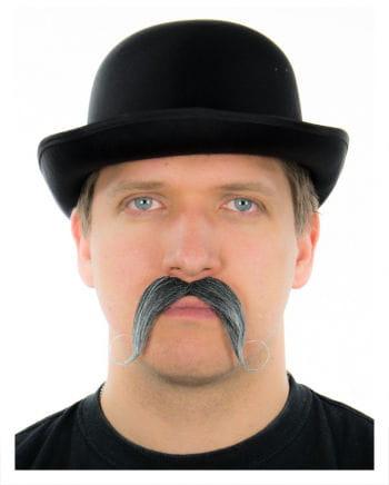 Gentleman Schnauzbart Schnauzbart schwarz/weiß
