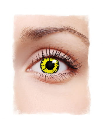 Yellow Werewolf 1-day Contact Lenses
