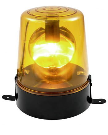 Yellow Police Light Rotating Beacon 18W