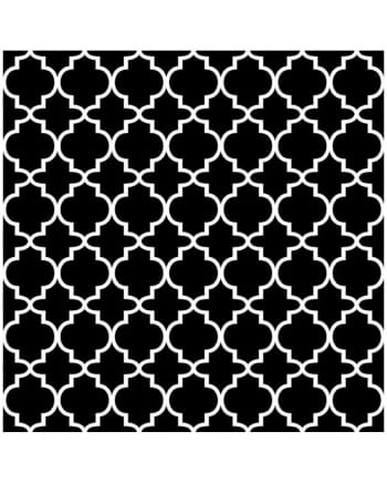 Patterned napkin black and white 20 pc.