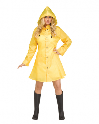 Georgina Rainjacket Yellow