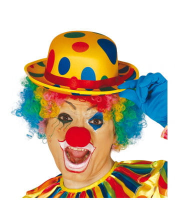 Dotted clown hat