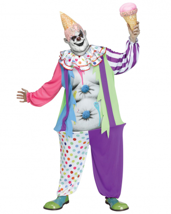 Hungriger Candy Clown Kostüm