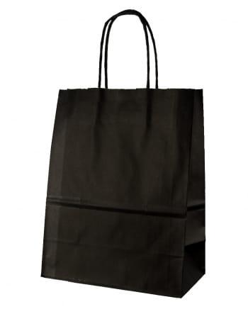 Schwarze Geschenktasche groß