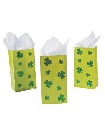 St. Patricks Day Kleeblatt Geschenktüten 12 St.
