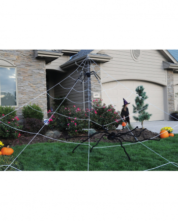 Gigantic Spider's Web For The Garden