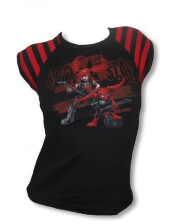 Girl shirt with print rockstars