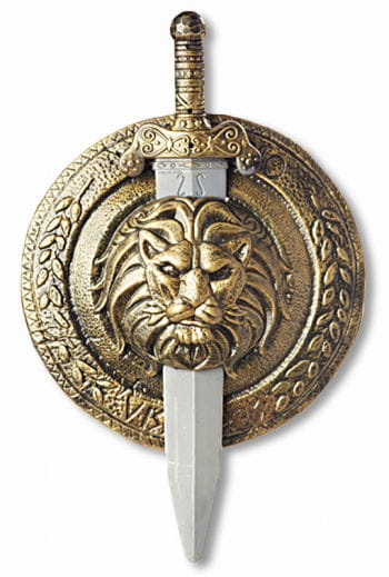Gladiator Schild und Schwert