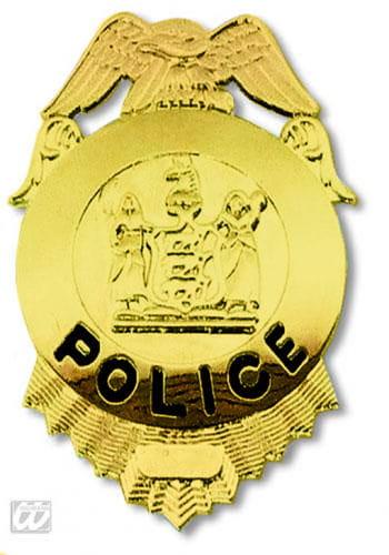 Glänzende FBI Police Marke