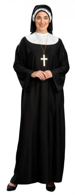 Gläubige Nonne Kostüm XL