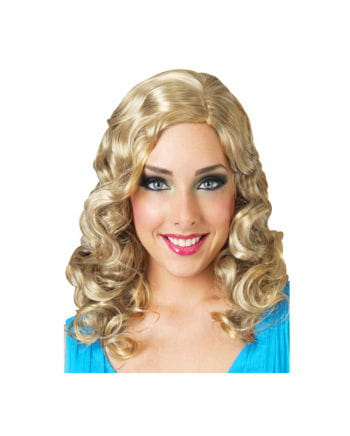 Blonde Glamour Lockenperücke