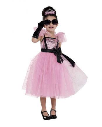 Rosa Glam Prinzessin Kostüm