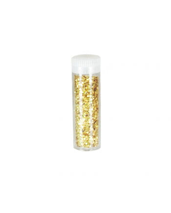 Glitter in gold spreader
