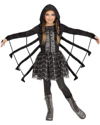 Glitter Spinne Kostüm für Kinder