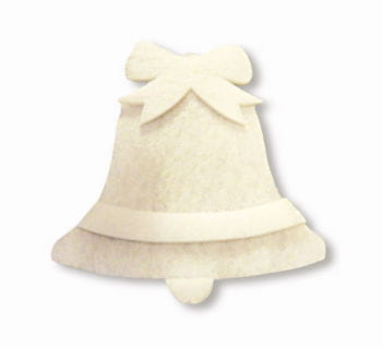 Glocke aus Schneewatte