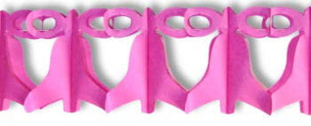 Bells Garland Pink